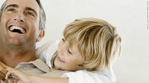 child and dad