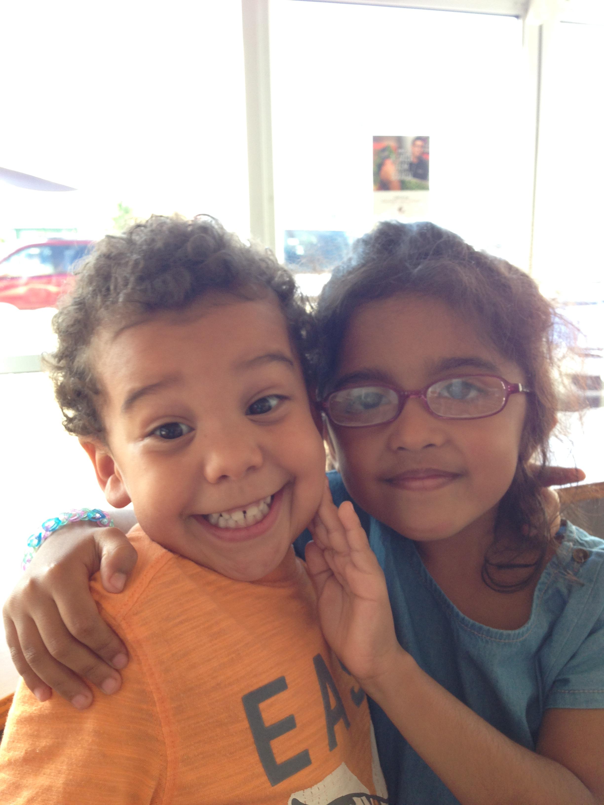 Sibling adoration