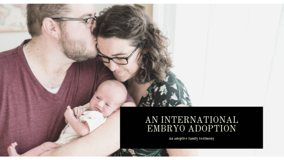 An International Embryo Adoption