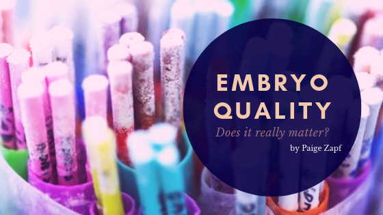 Embryo Quality: Does It Really Matter?