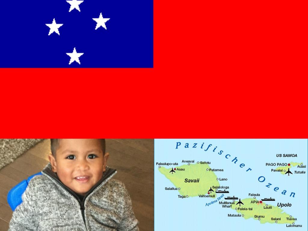 Samoa collage